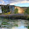 Thousand Springs Idaho by Ed  Riche