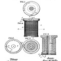 Thread Spool Patent 1877  by Bill Cannon