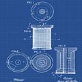 Thread Spool Patent 1877 Blueprint by Bill Cannon