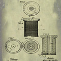 Thread Spool Patent 1877 Weathered by Bill Cannon