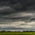 Threatening Sky Windmill by Thomas R Fletcher