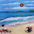 Three Beaches A by Mary Ann  Leitch