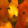 Three Bison by Austen Brauker