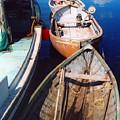 Three Boats by Andrea Simon
