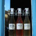 Three Bottles Of Liqueur by Dan Albright