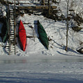 Three Canoes by Kathi Shotwell