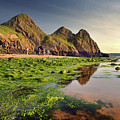 Three Cliffs Bay 3 by Phil Fitzsimmons