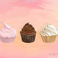 Three Cupcakes by Lois Boyce