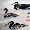 Three Ducks by Lisa Baack