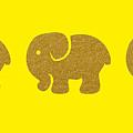 Three Elephants by Art Spectrum