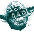 Three Eyed Yoda by Kenny Noorlander