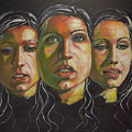 Three Faces 1 by Raija Merila