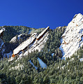 Three Flatirons by Marilyn Hunt