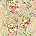 Three Flowers by Susan Campbell