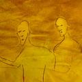 Three Ghost Running by Troix Johnson