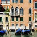 Three Gondolas by Mike Valdez