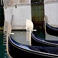 Three Gondolas by Nancy Bradley