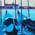 Three Gondolas by Robert Bissett