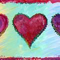 Three Hearts by Amy Kirkpatrick
