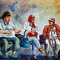 Three In San Diego by Joyce A Guariglia