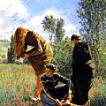Three Ladies In A Field by John Vincent Palozzi