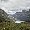 Three Lakes Viewed From Grinnell Glacier by Belinda Greb