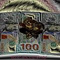 Three Legged Frog Bringing Luck And Wealth by Alexander Borovikov