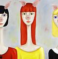 Three Little Pig Ladies  by Cassie Foster