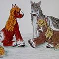 Three Little Ponies by Megan Walsh