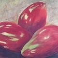 Three Mangos by Jeanie Watson