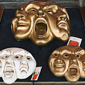 Three Masks For Sale, Venice by Dan Nourie