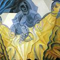 Three Masks  by Juan Gris