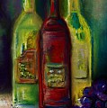 Three More Bottles Of Wine by Frances Marino