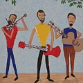 Three Musicians by Gregory Davis