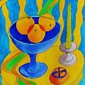 Three Oranges by Lou Cicardo