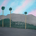 Three Palm Trees In The Desert by Harris Gulko