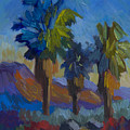 Three Palms At Palm Desert by Diane McClary