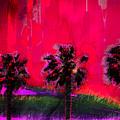 Three Palms II by Ronald Bolokofsky