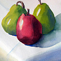 Three Pear by Libby  Cagle