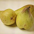 Three Pears by Andreas Berheide