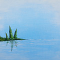 Three Pine Island by Blake Wesley