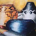 Three Pots by Cheryl Bishop