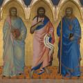 Three Saints by PixBreak Art