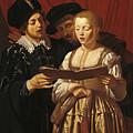 Three Singers by Adam de Coster