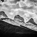 Three Sisters Alberta by Karl Anderson