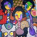 Three Sisters by Ferdinand Emeka