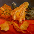 Three Squash by Donelli  DiMaria