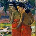 Three Tahitian Women by Gauguin