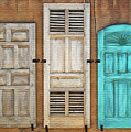 Three Taos Doors by Sharon Foster