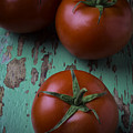 Three Tomatoes by Garry Gay